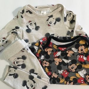 Mickey Mouse Set of 2 Outfits